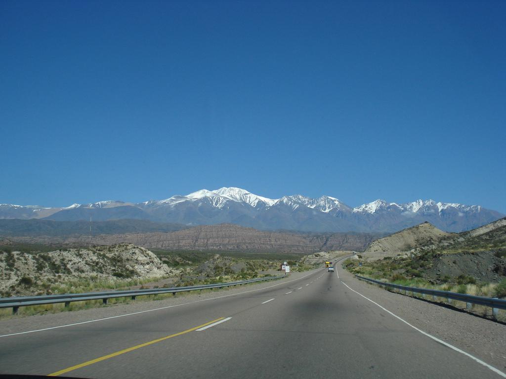 Andean Mountains near Mendoza (Argentina)