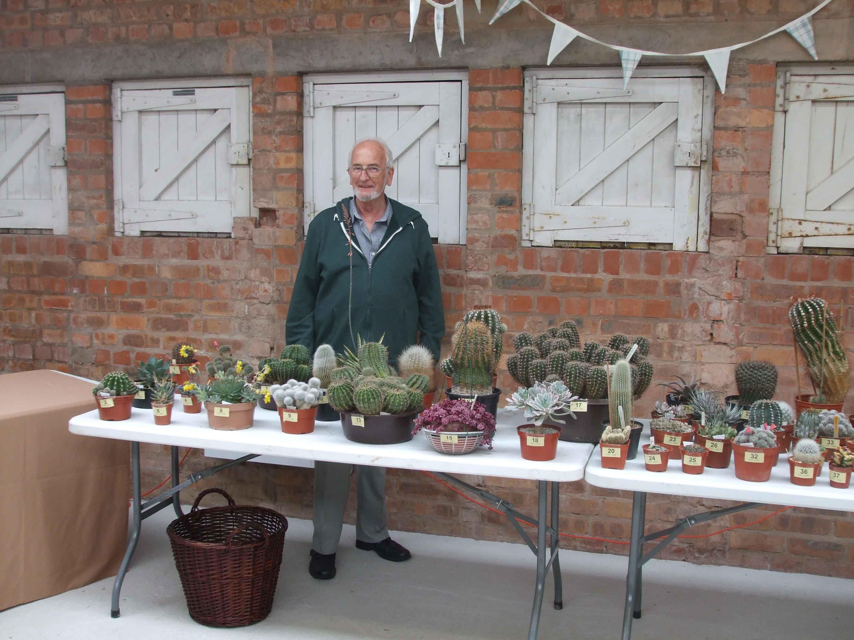Derek and his plants