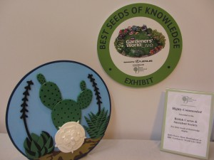 Award of Best Exhibit in the Seeds of Knowledge section