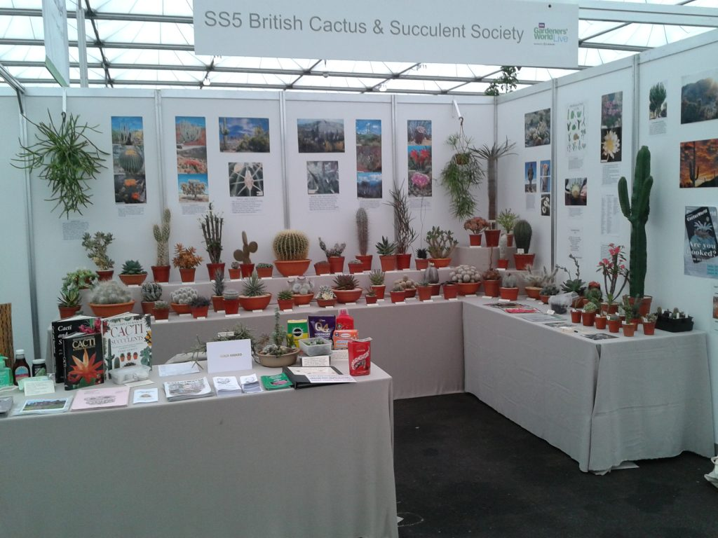 BCSS Birmingham at BBC Gardener's World Live 2016
